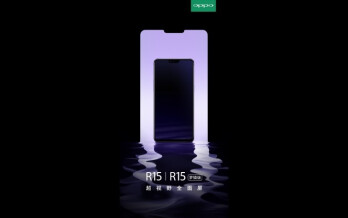 Oppo R15 hints that the OnePlus 6 will have a notch