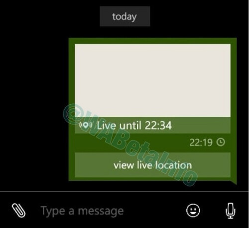New features for the Windows Phone version of the WhatsApp Beta