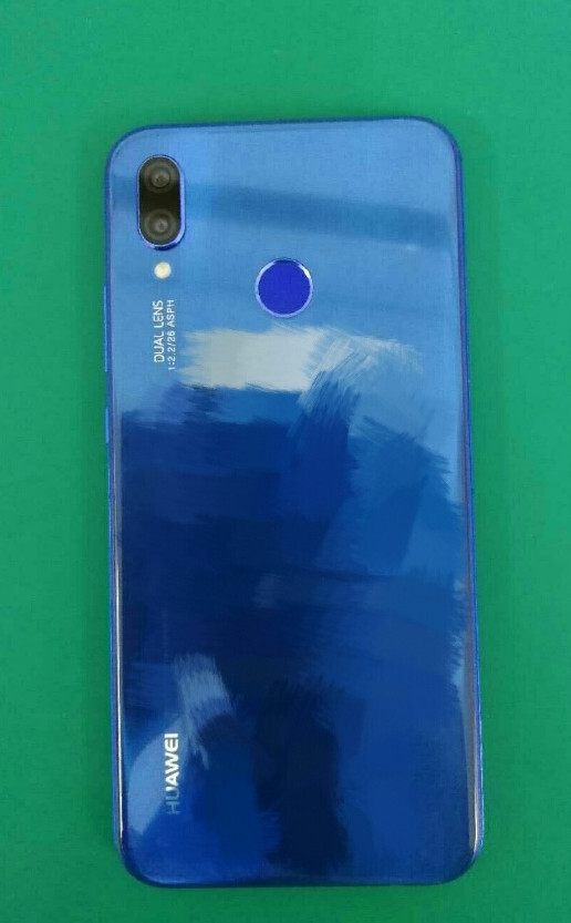 Here is the Huawei P20 Lite in blue