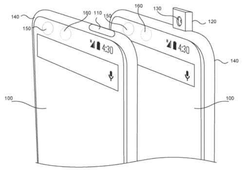 Essential owns a patent on a pop-up selfie camera