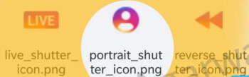 The portrait icon in it's shine, found after decompiling the Instagram app