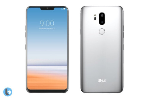 LG G7 with a notch