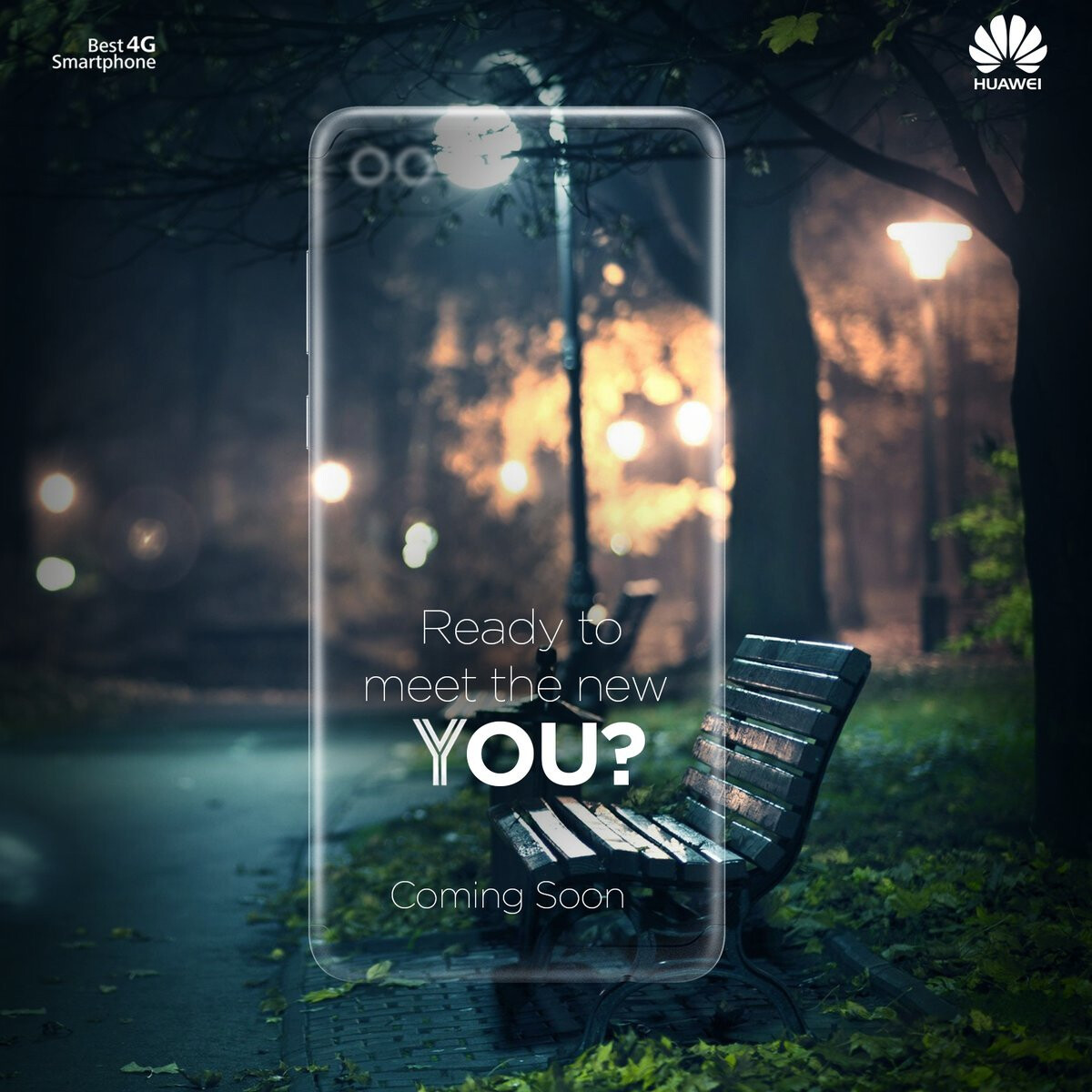 Teaser for the Huawei Y9