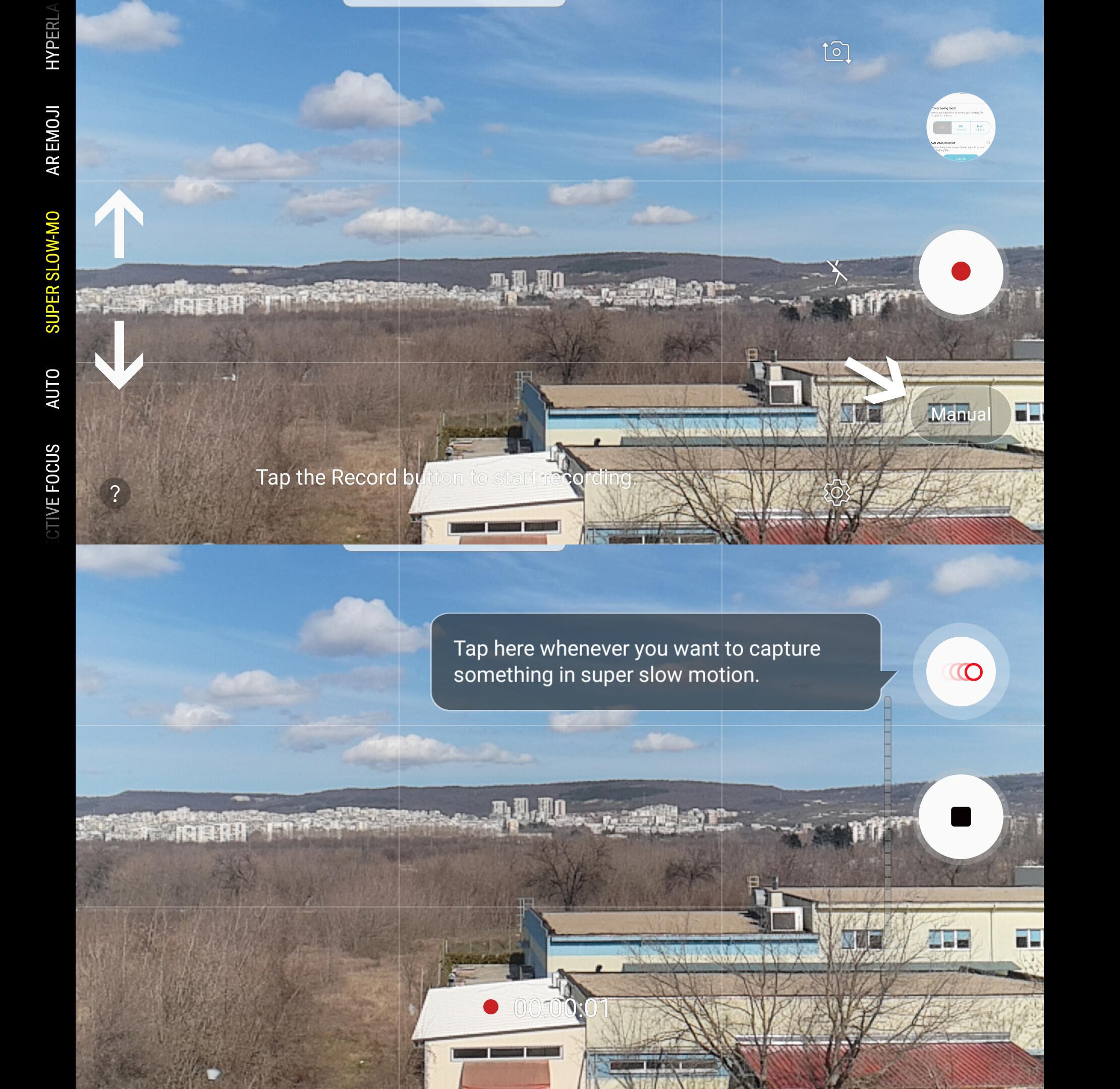 Shoot super slow-mo video at 960fps