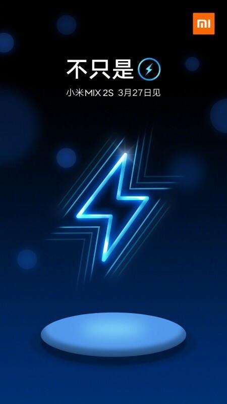 Mi Mix 2s would sport wireless charging - Xiaomi Mi Mix 2s video leak touts a corner notch, wireless charging hinted