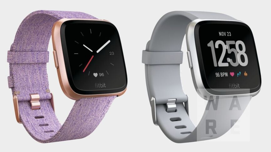 how to set time on fitbit versa