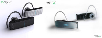 Callpod unveils Onyx and Vetro Bluetooth headsets with 164 ft range