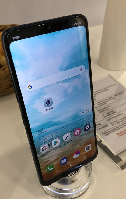 The G7 notch could be 'optional' - Look, Ma, no notch! The LG G7 could let you opt out of 'Full View' mode