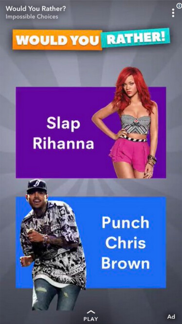 """Snapchat's controversial ad - Users are deleting Snapchat following its """"slap Rihanna"""" ad (UPDATE)"""