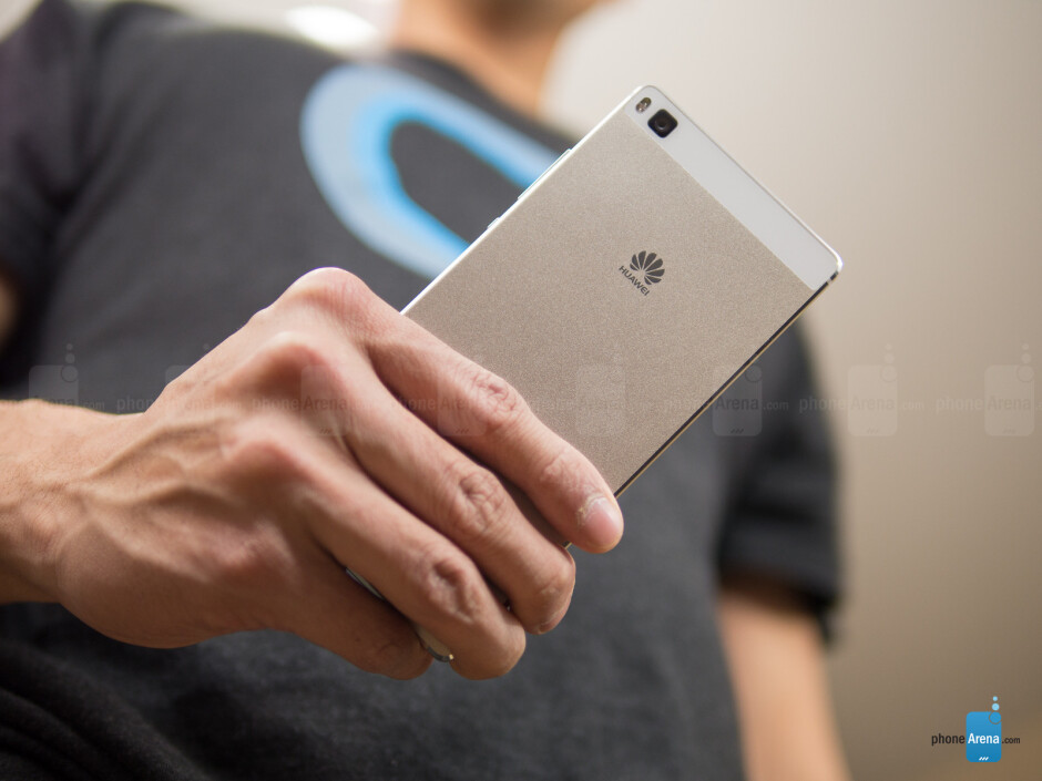 From left to right, the Huawei P6, P7, and P8, which all helped to establish Huawei as a serious contender in the flagship category. - Huawei's uphill battle for brand recognition