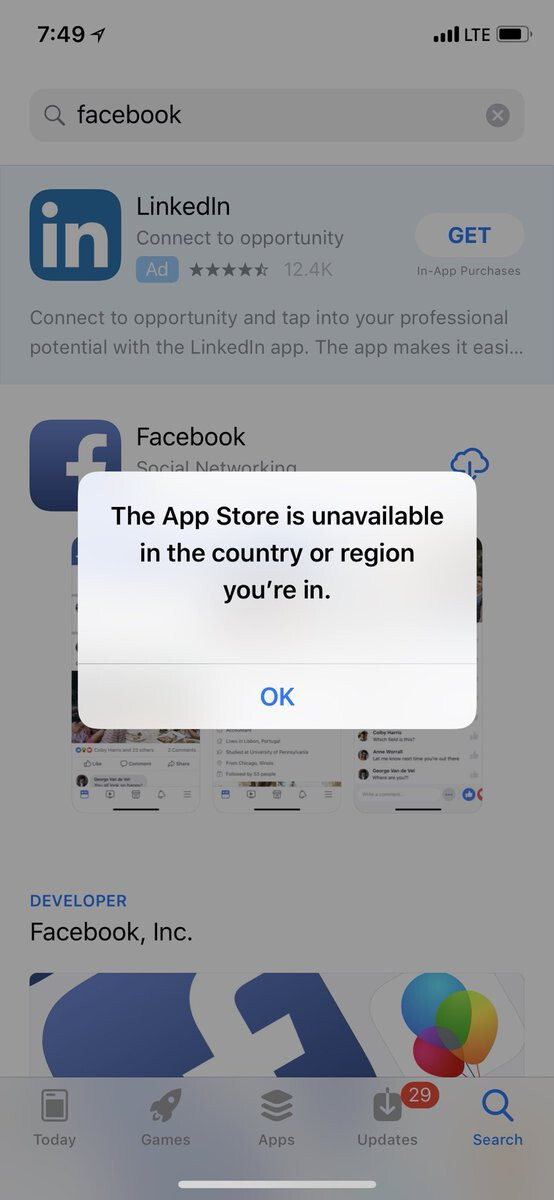 No App Store access possible now, report Iranians - PhoneArena