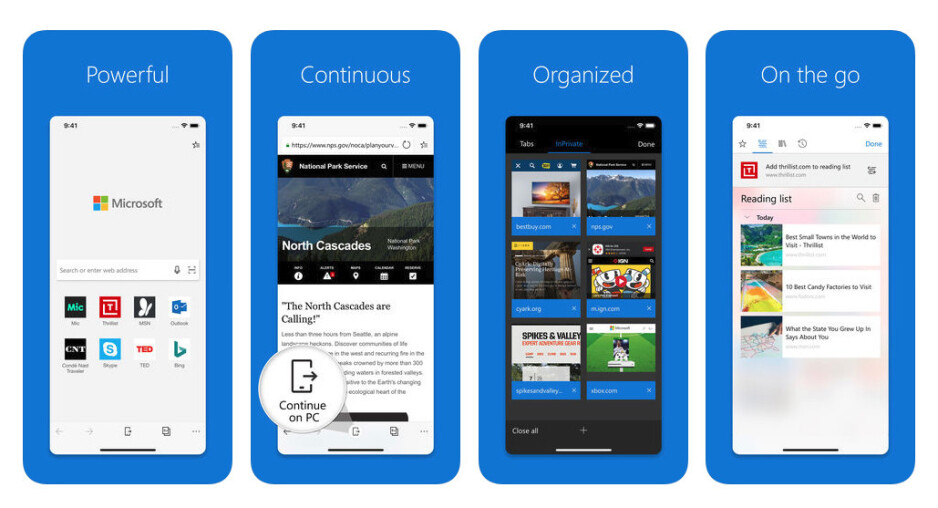 Microsoft Edge preview for iOS gets optimised for iPads