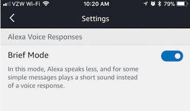"""Brief Mode will stop Alexa from verbally confirming your demand - New """"Brief Mode"""" for Alexa will keep her quiet after your request"""