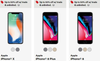 iphone trade up buy an iphone x or iphone 8 for half the price at verizon 12402