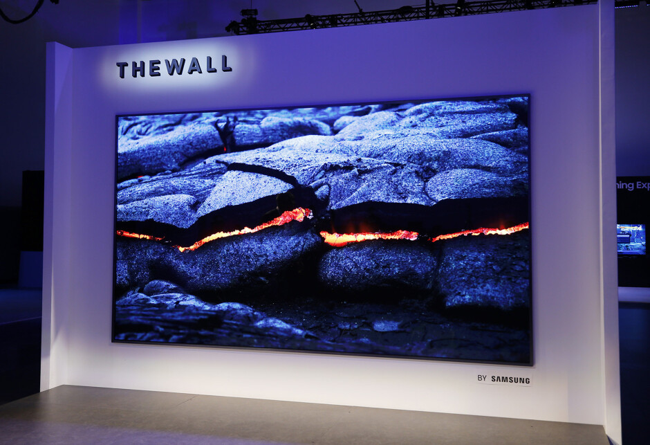 This is The Wall – Samsung's 146-inch microLED TV. It'll probably cost a kidney. - What is microLED and why does Apple want to use the tech?