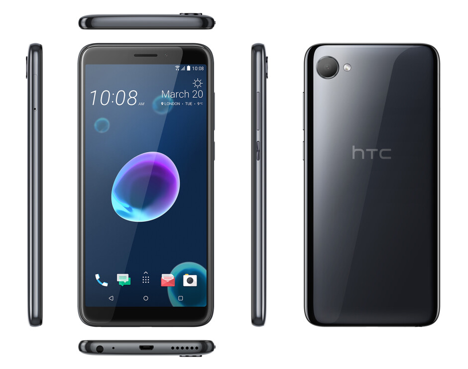 HTC Desire 12 - Meet HTC's new Desire 12 and 12+ entry-level troopers: Great design, but modest specs