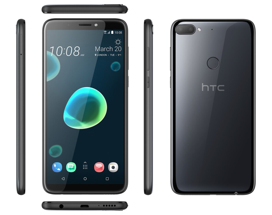 HTC Desire 12+ - Meet HTC's new Desire 12 and 12+ entry-level troopers: Great design, but modest specs