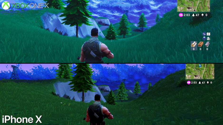 Fortnite on Xbox One vs iPhone X - Fortnite mobile compared to the home console and PC versions: What are the differences?
