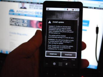 Upgrade for DROID X on the way to repair minor bugs