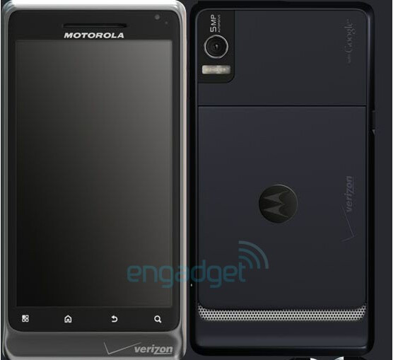 Motorola DROID 2 gets shuttered for the first official time