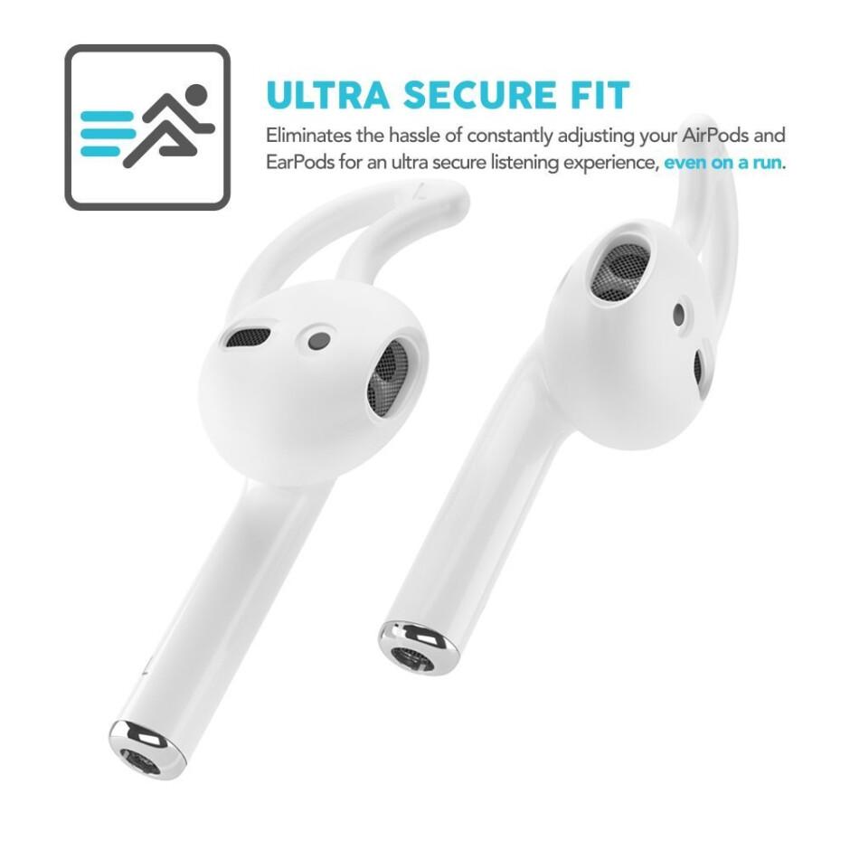 Earbuddyz for the AirPods - Best custom AirPods & accessories in 2018: Colorful earbuds, stickers, hooks, cases, and fins