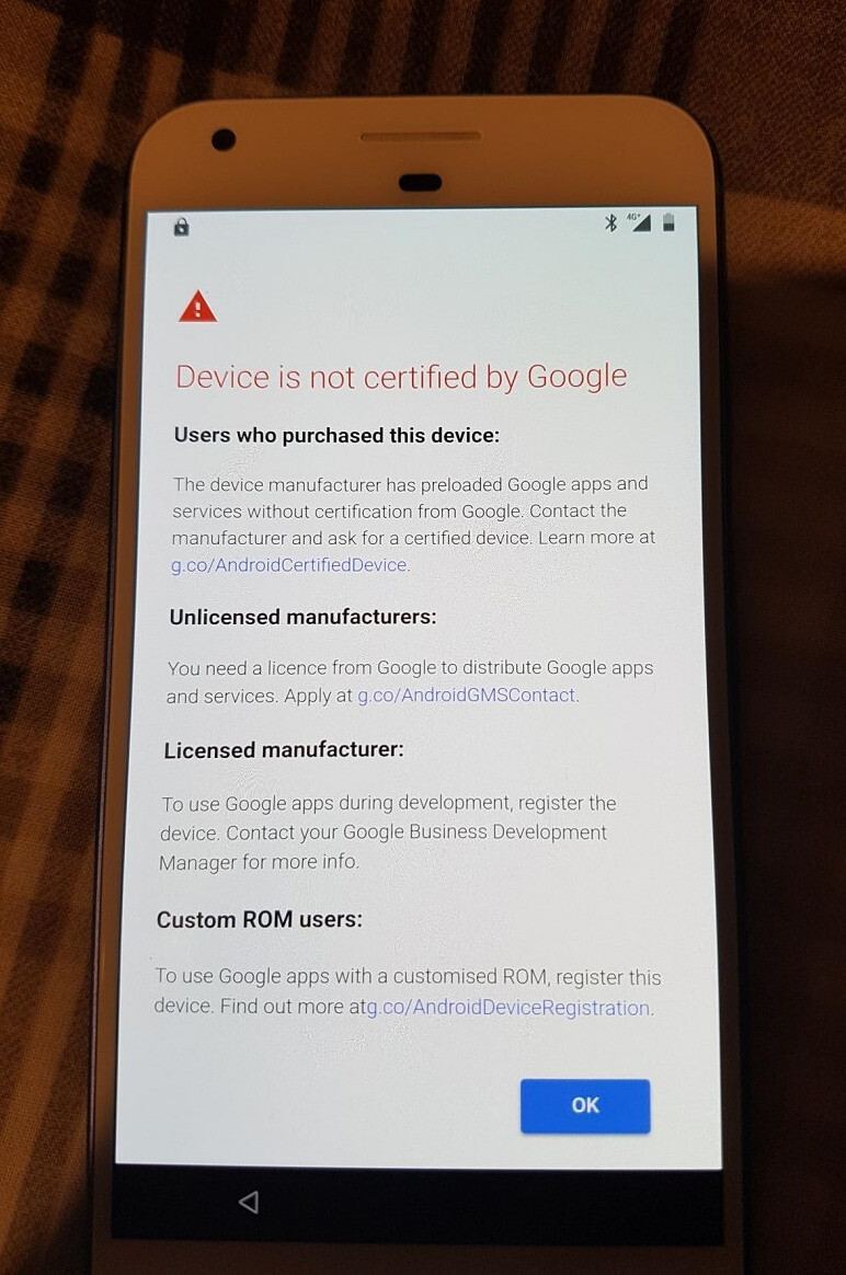 Google's apps and services will now require your phone to be certified