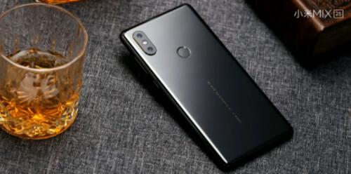The Black version of the phone