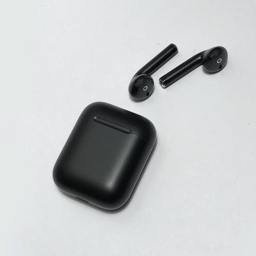 Stealth Matte Black AirPods - $299 - Best custom AirPods & accessories in 2018: Colorful earbuds, stickers, hooks, cases, and fins