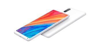 The new Xiaomi Mi Mix 2S in white
