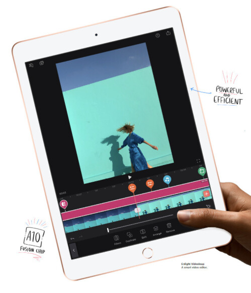 "New 9.7"" iPad with support for Apple Pencil"