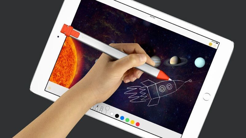 The Logitech Crayon is an Apple Pencil at half the price!