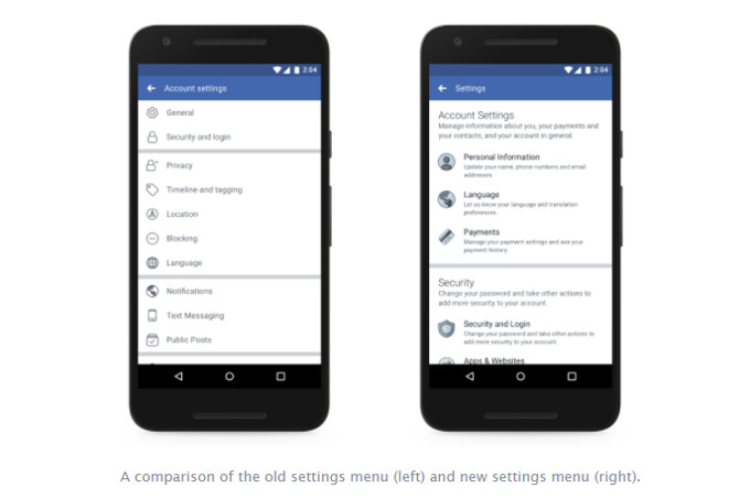 Facebook makes it easier to find and adjust your privacy settings