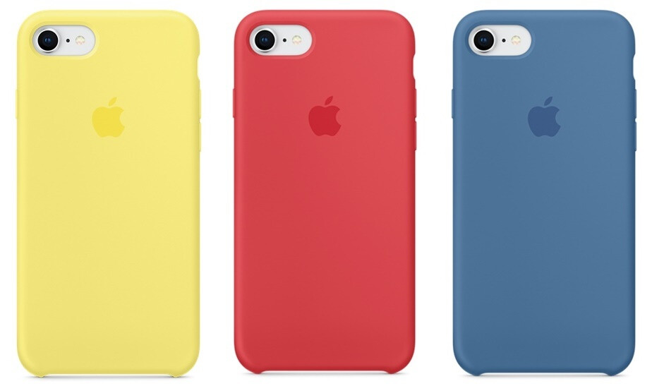 Apple brings new spring colors for iPhone and iPad cases
