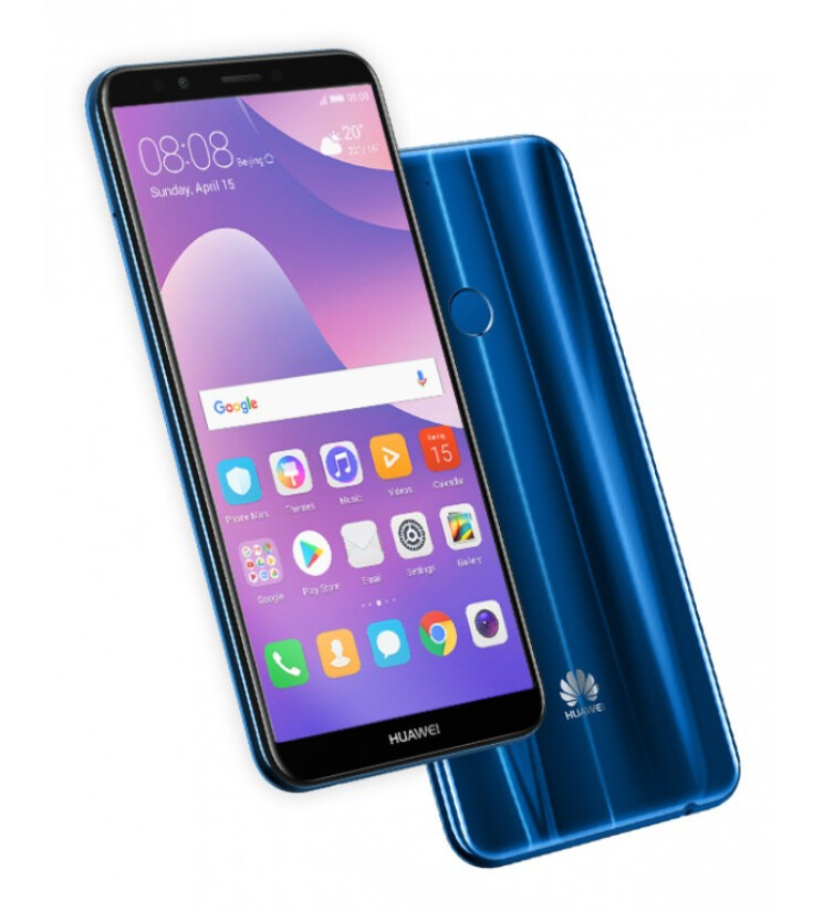 Huawei Y7 Prime 2018 - Huawei unveils the affordable Y7 Prime 2018 with FullView screen and dual rear cameras