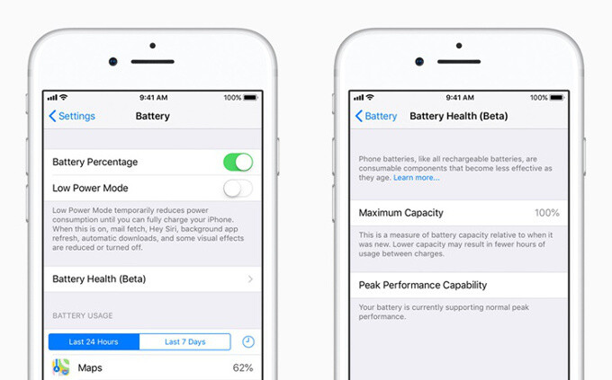 Apple releases iOS 11 3 software update: battery health tool