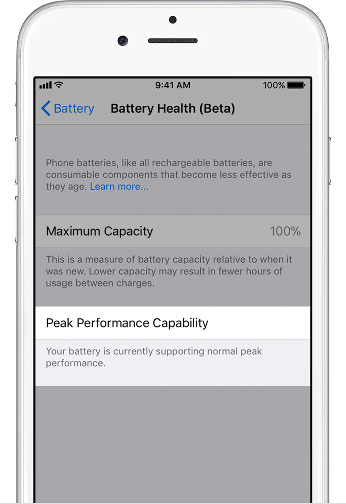 Normal - iOS 11.3 Battery Health and Performance Throttling: what is it exactly?