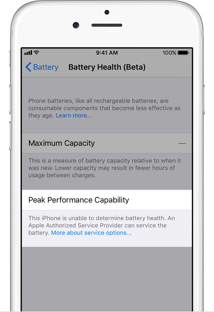 Degraded Battery Health - iOS 11.3 Battery Health and Performance Throttling: what is it exactly?