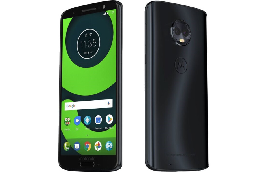 Motorola Moto G6 - All Moto G6 phones get listed on an online retailer with images and full specs