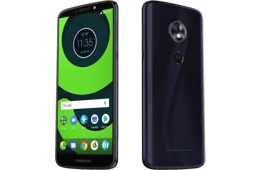 Motorola Moto G6 Play - All Moto G6 phones get listed on an online retailer with images and full specs