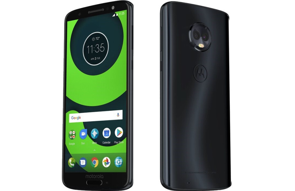 Motorola Moto G6 Plus - All Moto G6 phones get listed on an online retailer with images and full specs