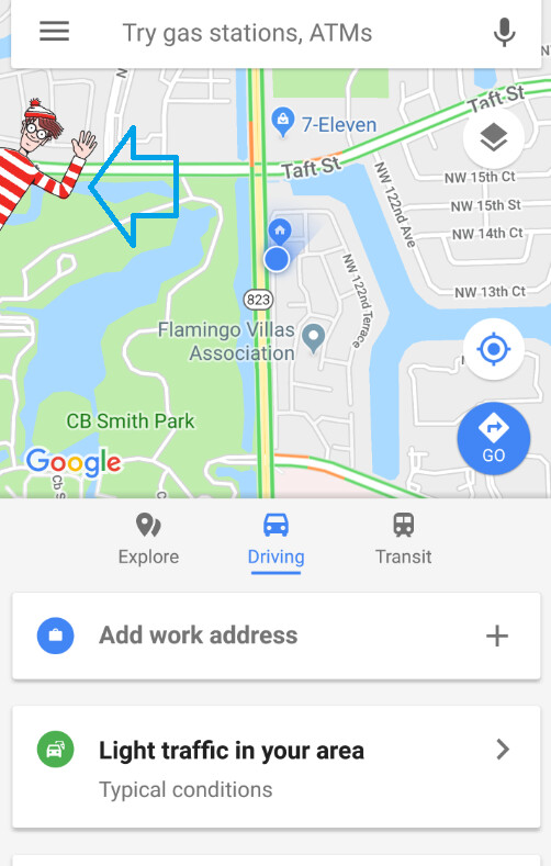 Open Up Maps Where's Waldo? Open up Google Maps and find out Open Up Maps