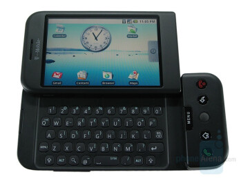The industrial designs that HTC was known for didn't necessarily translate over to its first Android offerings, the T-Mobile G1 and the HTC Magic.
