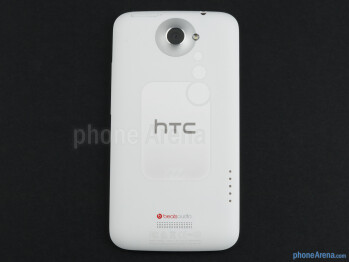 The HTC One X (left) introduced a polycarbonate frame, which eventually made its way to the HTC EVO 4G LTE (middle) and Desire V (right).