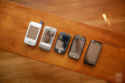 A look back at the evolution of HTC's smartphone designs