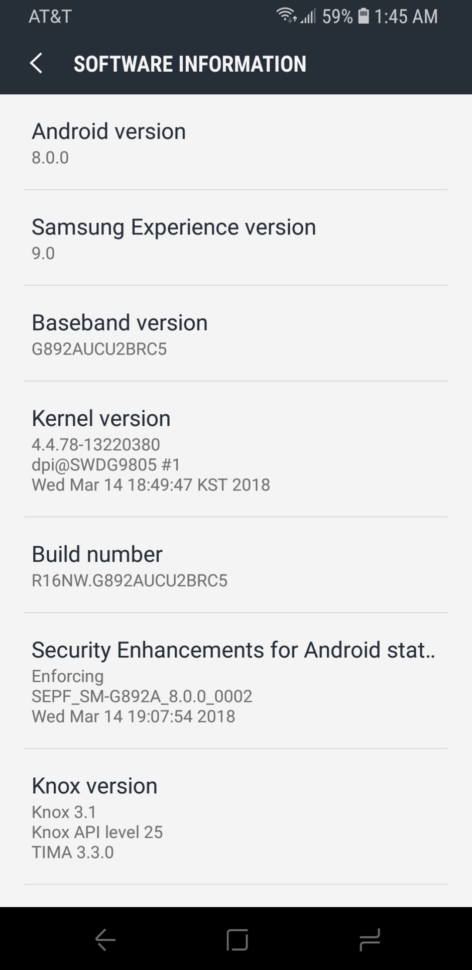 AT&T pushes out Android 8.0 Oreo to the Galaxy S8 Active