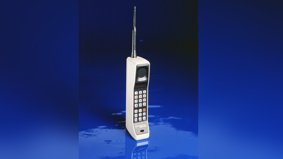 The venerable Motorola DynaTAC - Motorola celebrates the 45th birthday of the mobile phone with a heap of awesome deals!