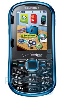 Upcoming phones for Verizon make an appearence