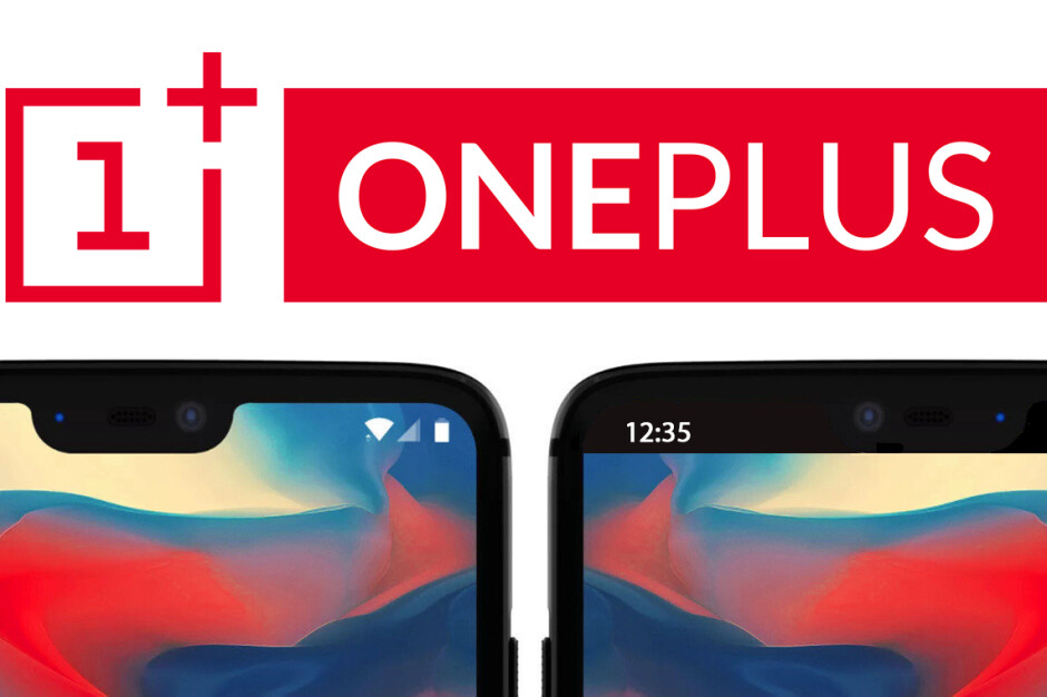 Confirmed: You will be able to hide the OnePlus 6 notch... eventually