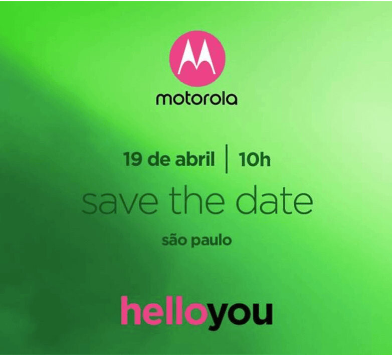 Motorola to announce the Moto G6 series on April 19