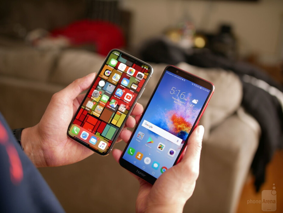 If there's one instantly recognizable difference, it's that high-end phones still receive the higher-quality displays. - I switched my $1000 iPhone X for a $200 phone and it was not all that surprising